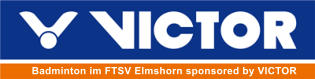Badminton im FTSV Elmshorn sponsored by VICTOR